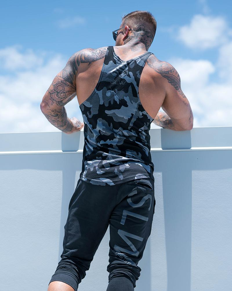 Camolite Taperback - Grey Mens Strong Liftwear