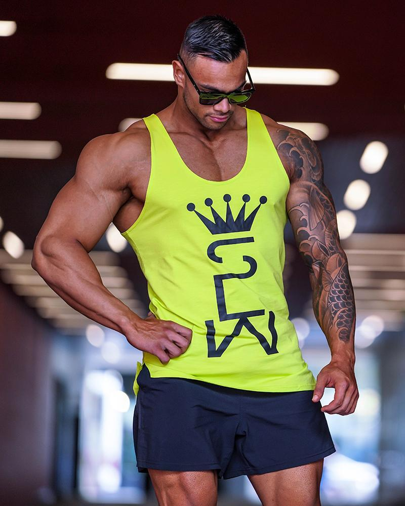 Crown Monarch Taperback Singlet Mens Strong Liftwear