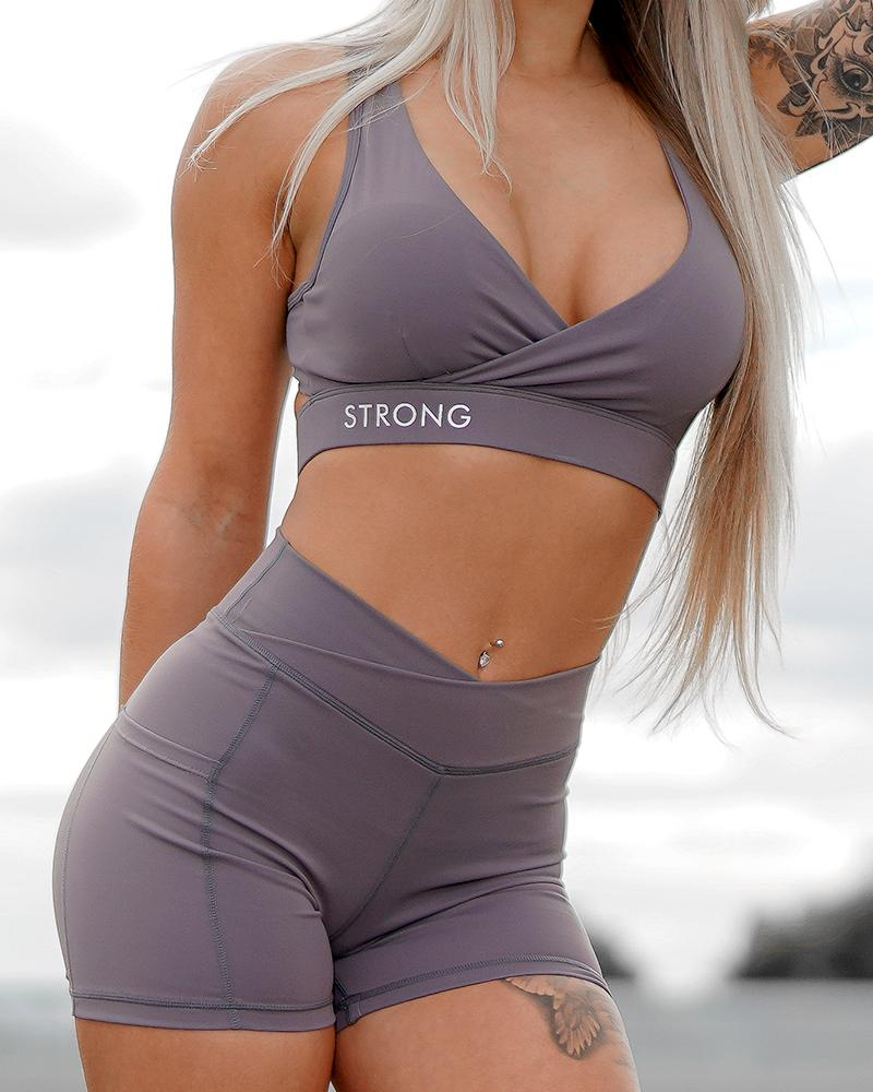 Define Bra - Mauve Womens Strong Liftwear