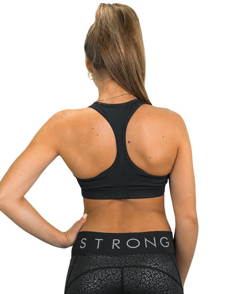 Essential Racer Sports Bra Womens Strong Liftwear