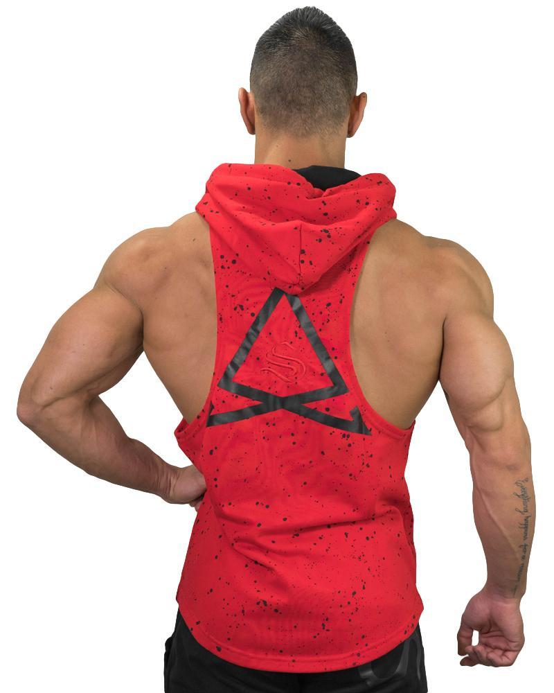 Fleck Boulder Sleeveless Hoodie Mens Strong Liftwear Australia