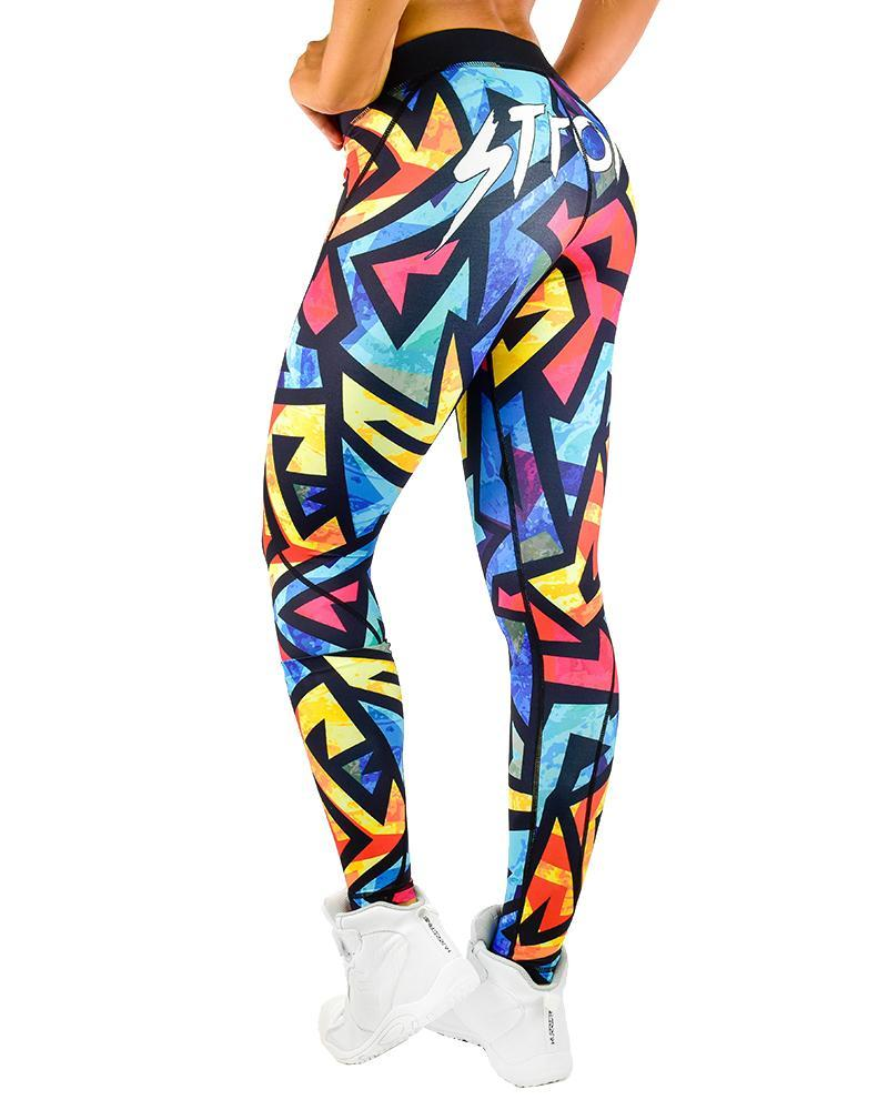 Force Series Compression Pants Womens Strong Liftwear XS Wild