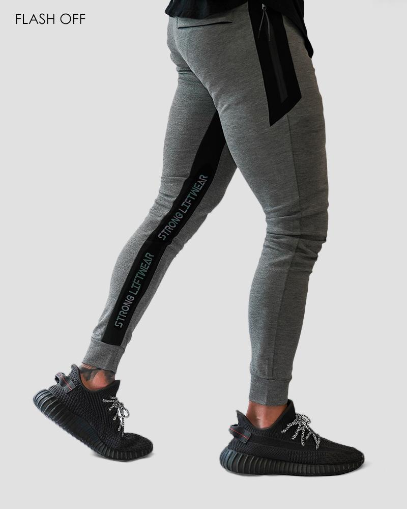 Harlequin MeshTech Training Pants - Grey Strong Liftwear Australia