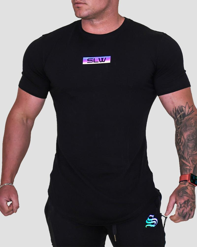 Harlequin Strong Tee - Black Strong Liftwear