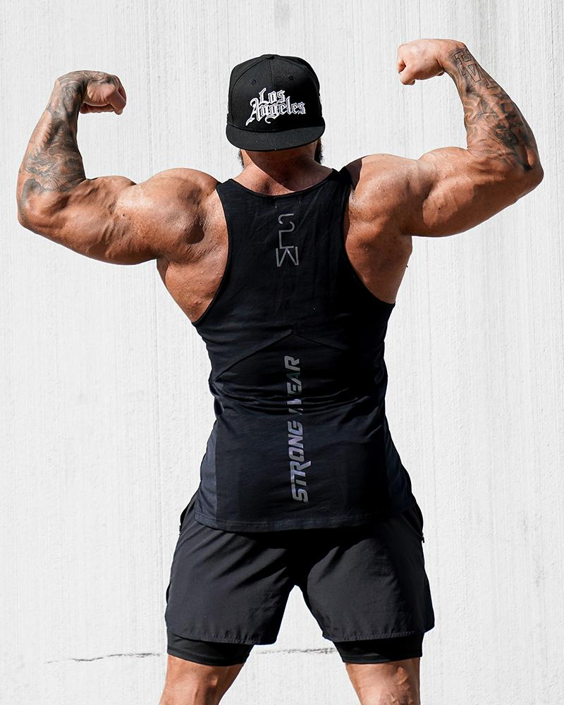 Harlequin Taperback - Black Mens Strong Liftwear