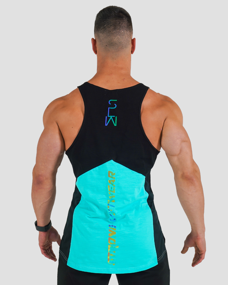 Harlequin Taperback - Blue Mens Strong Liftwear