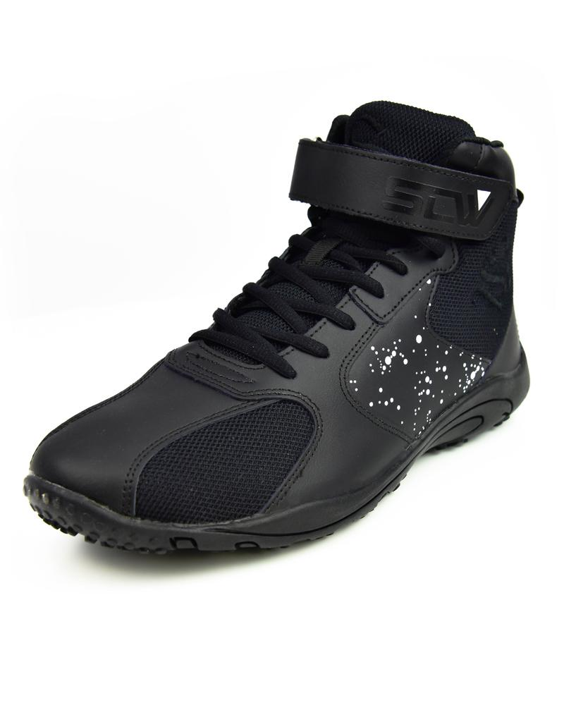 Hurricane High-Top Training Shoes Mens Strong Liftwear 7 (US) Black