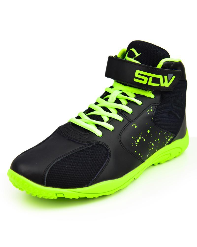 Hurricane High-Top Training Shoes Mens Strong Liftwear 7 (US) Black / Hyper