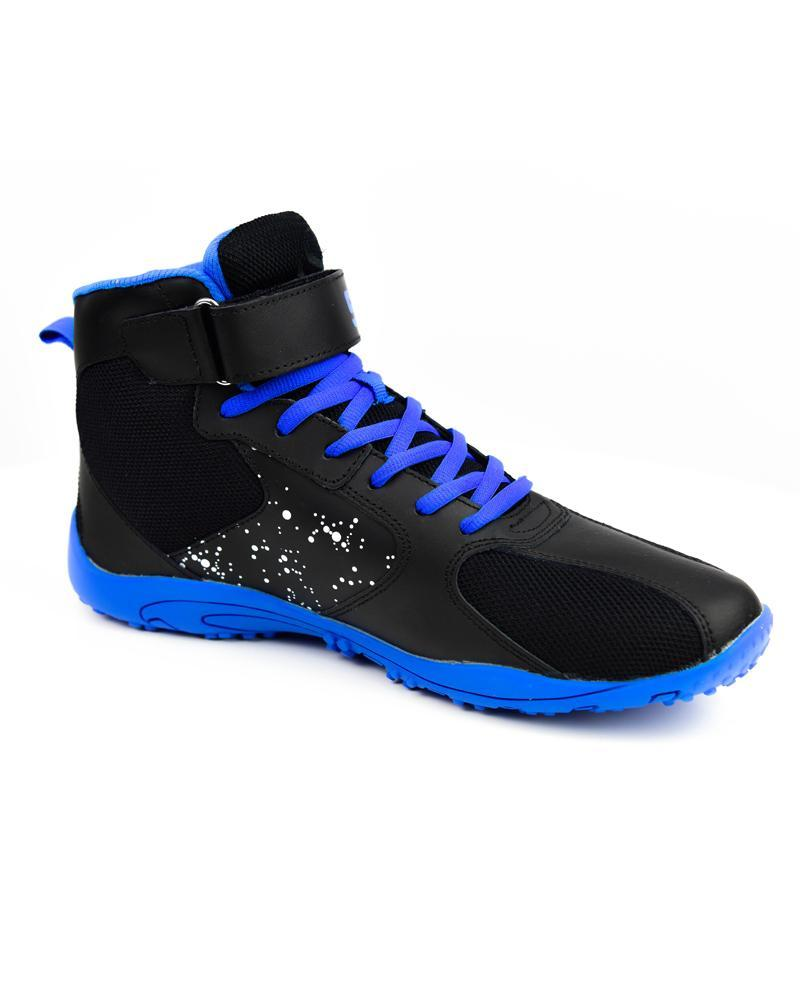 Hurricane High-Top Training Shoes Mens Strong Liftwear 7 (US) Black/Blue