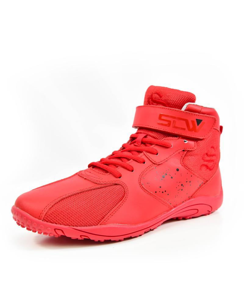 Hurricane High-Top Training Shoes Mens Strong Liftwear 7 (US) Devil Edition