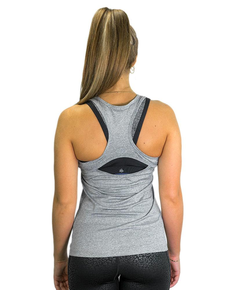 Ladies Active Racerback Singlet Womens Strong Liftwear