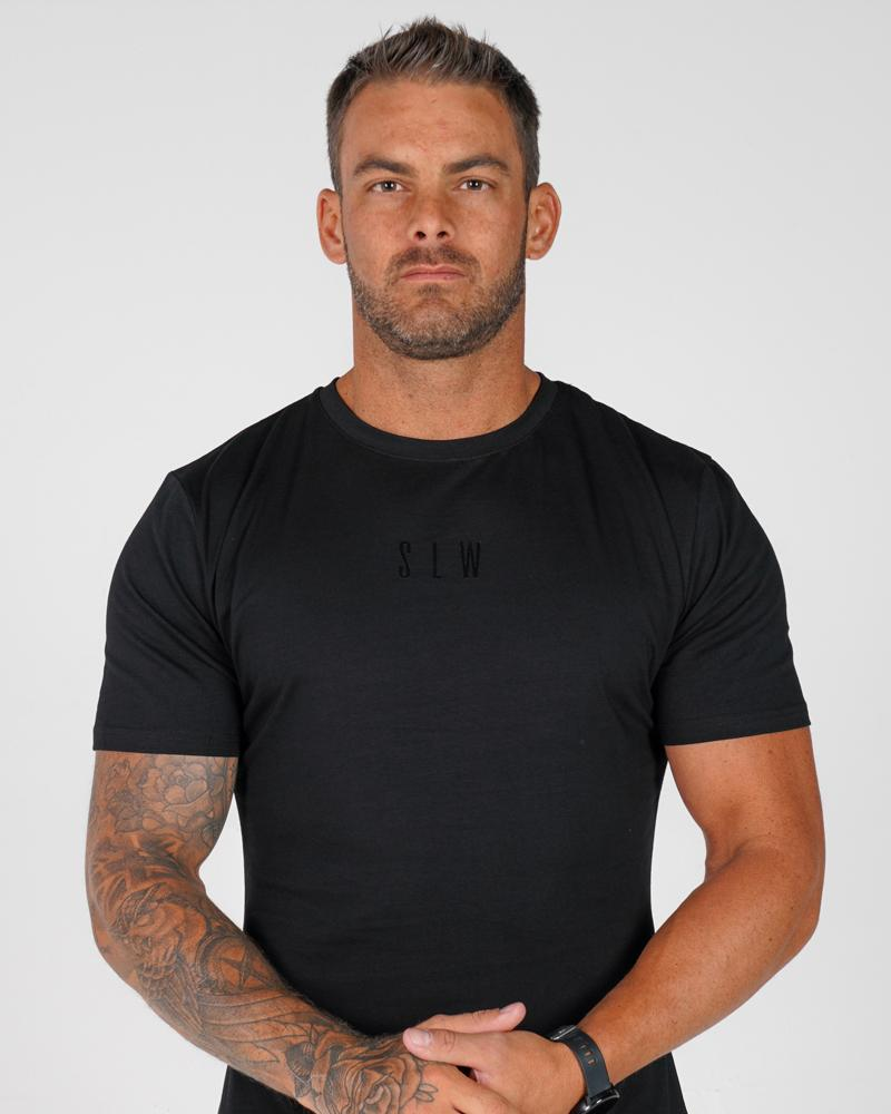 Mens Accentuate Tee Mens Strong Liftwear S Black