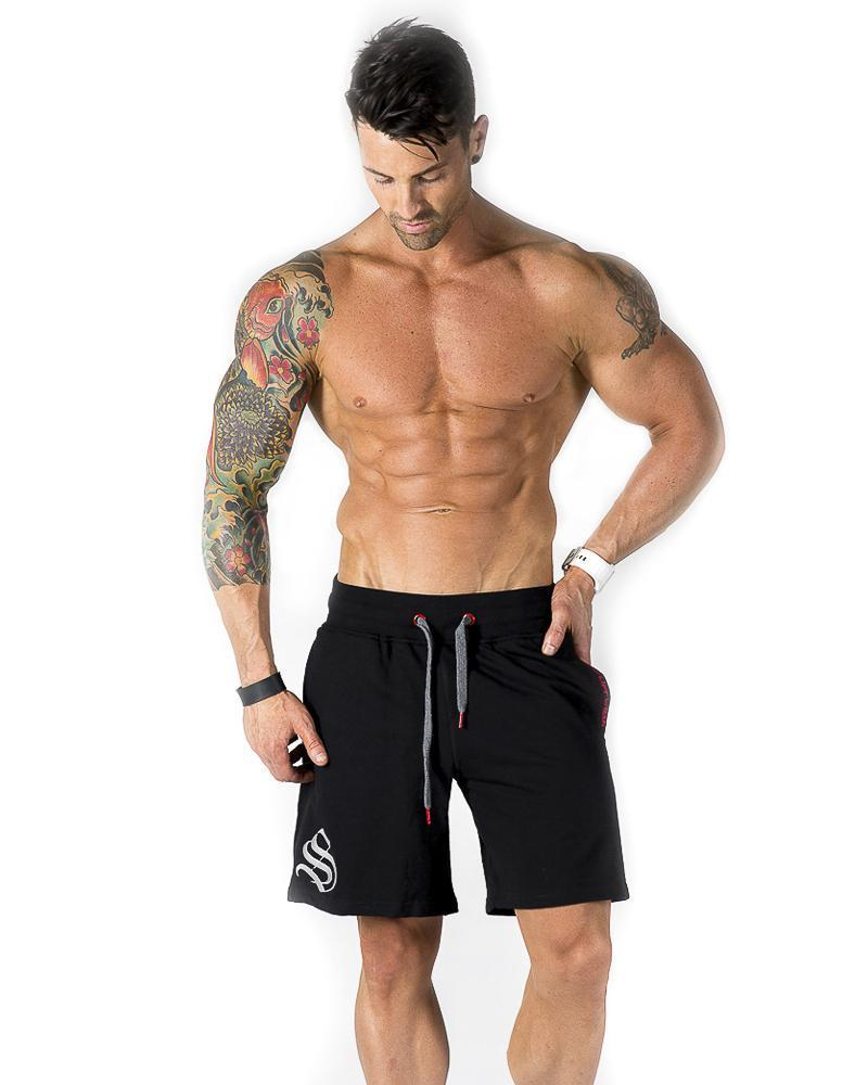 Mens Mid Shorts Mens Strong Liftwear S Black