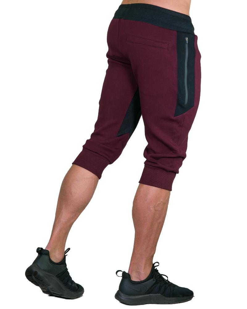 MeshTech 3/4 Training Pants - Burgundy Mens Strong Liftwear