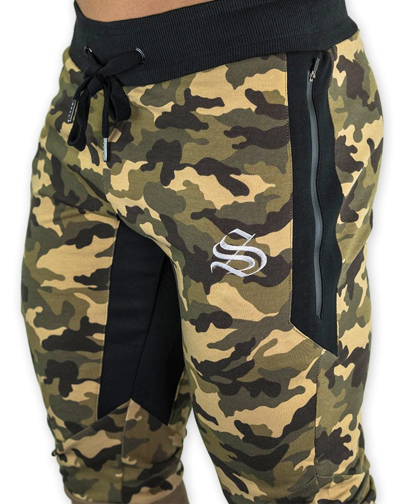 MeshTech 3/4 Training Pants - Camo Mens Strong Liftwear