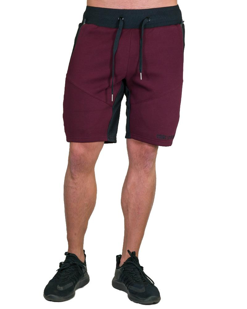 MeshTech Mid Shorts Mens Strong Liftwear S Burgundy