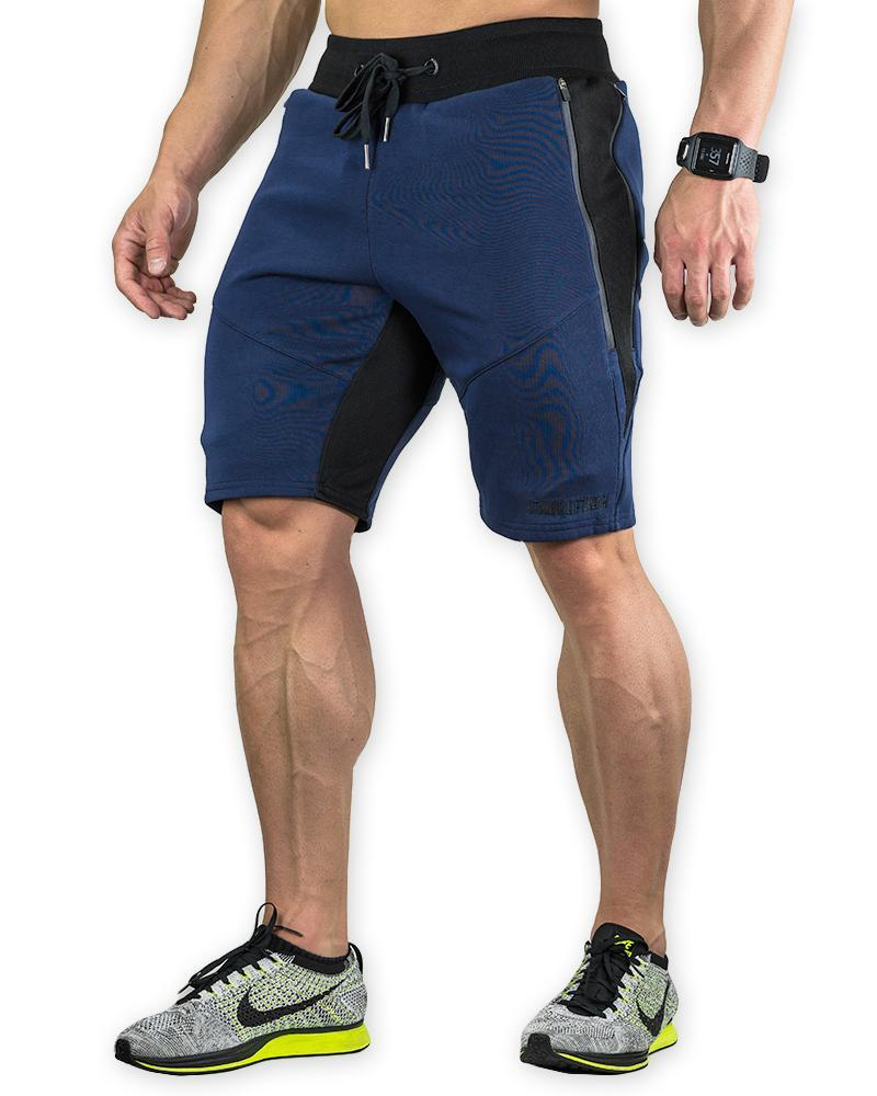 MeshTech Mid Shorts Mens Strong Liftwear S Navy