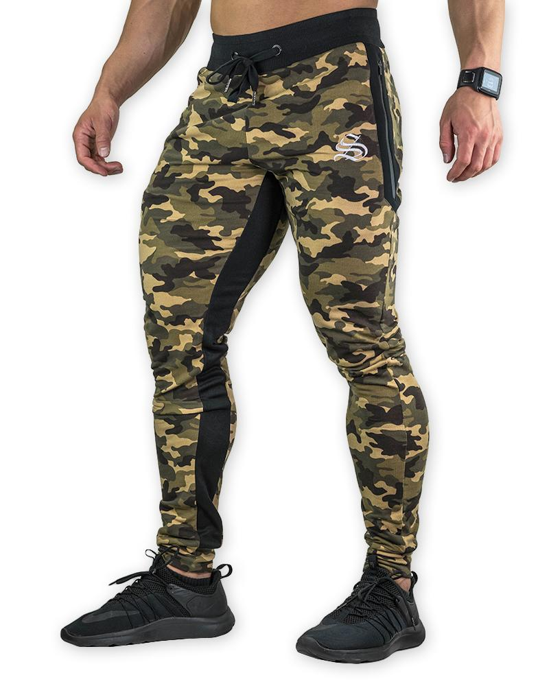 MeshTech Training Pants Mens Strong Liftwear S Camo