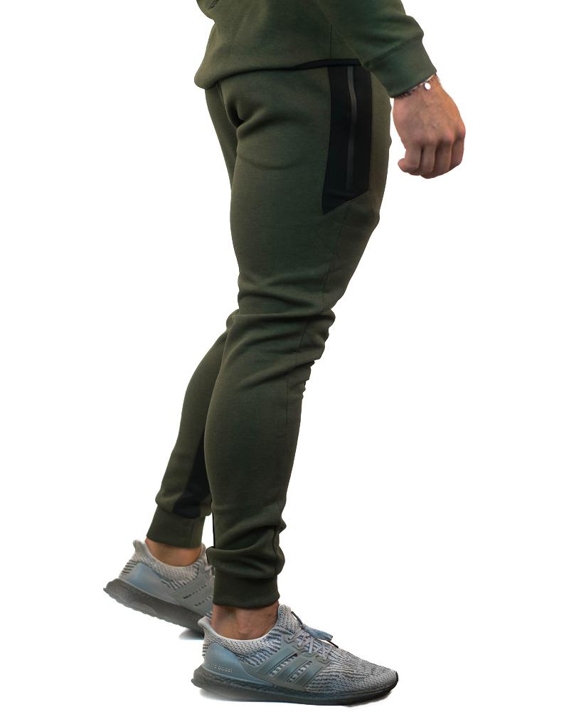 MeshTech Training Pants Mens Strong Liftwear S Olive
