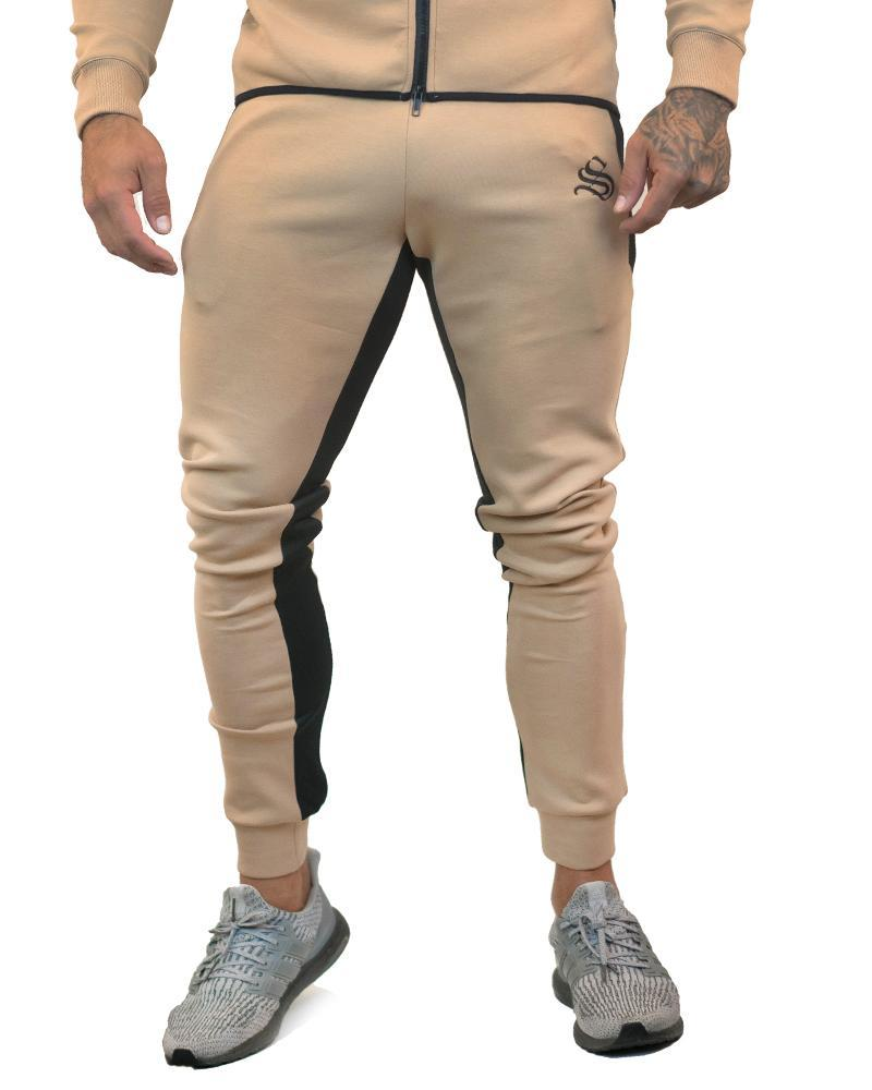 MeshTech Training Pants Mens Strong Liftwear S Tan