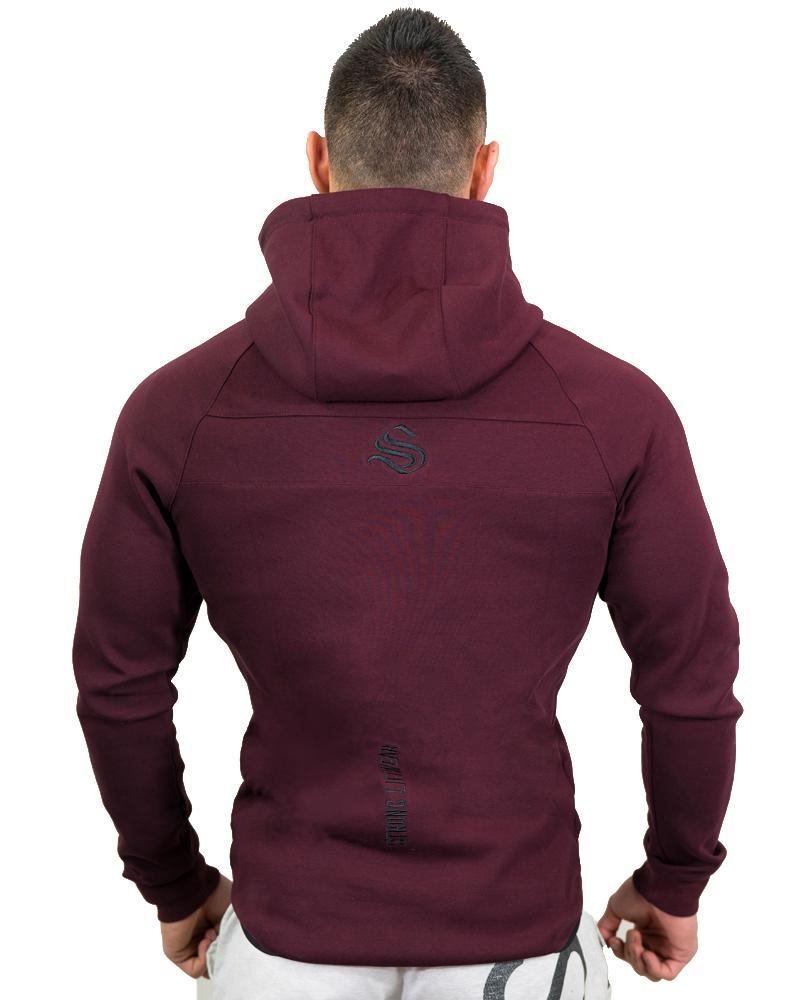 MeshTech Zipper Training Hoodie Mens Strong Liftwear