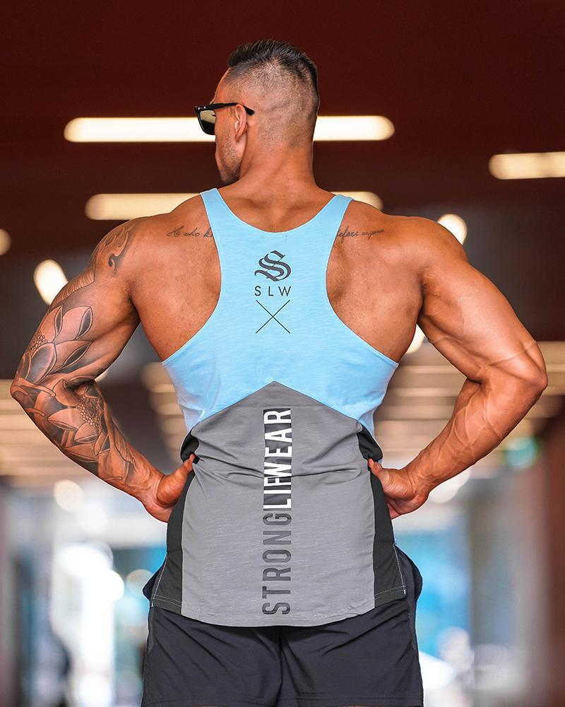 Monarch Taperback Singlet Mens Strong Liftwear