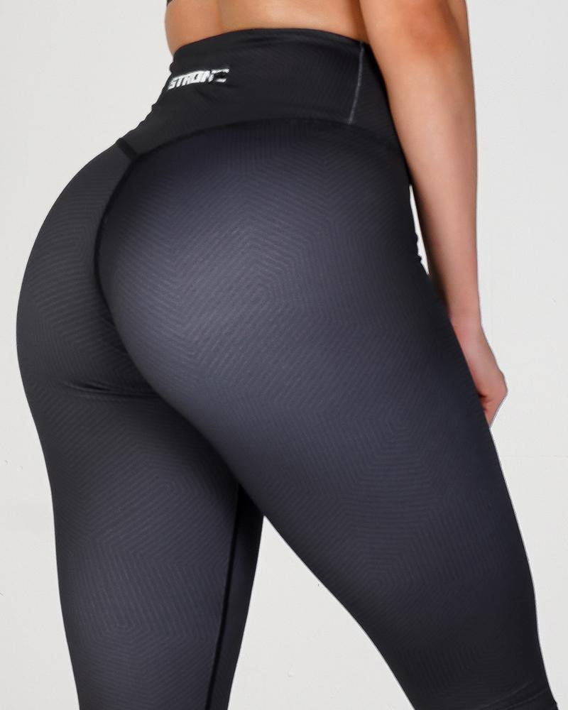 Phoenix Verge Leggings Womens Strong Liftwear XS Black