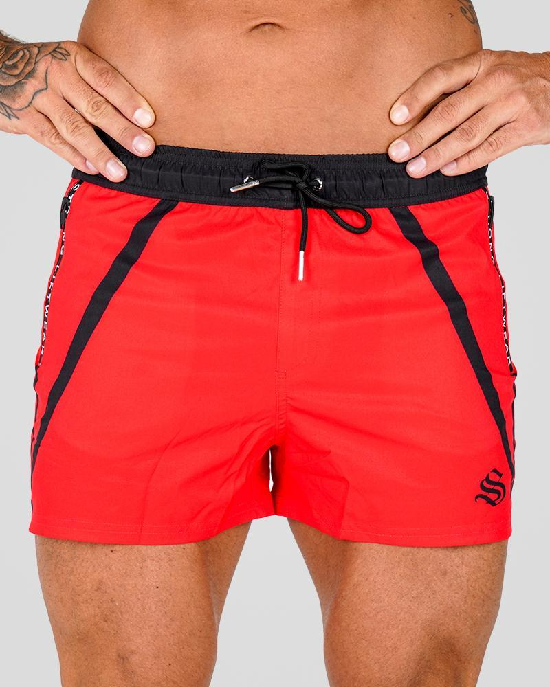 Premium Lift Shorts Shorts Strong Liftwear S Red