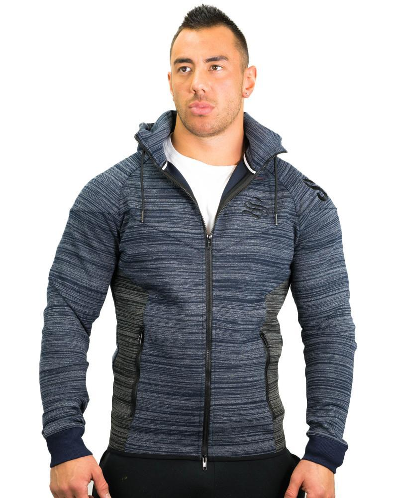 Prime Training Hoodie Mens Strong Liftwear S Blue