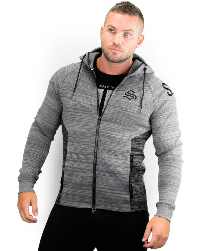 Prime Training Hoodie Mens Strong Liftwear S Grey