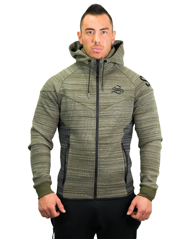 Prime Training Hoodie Mens Strong Liftwear S Olive