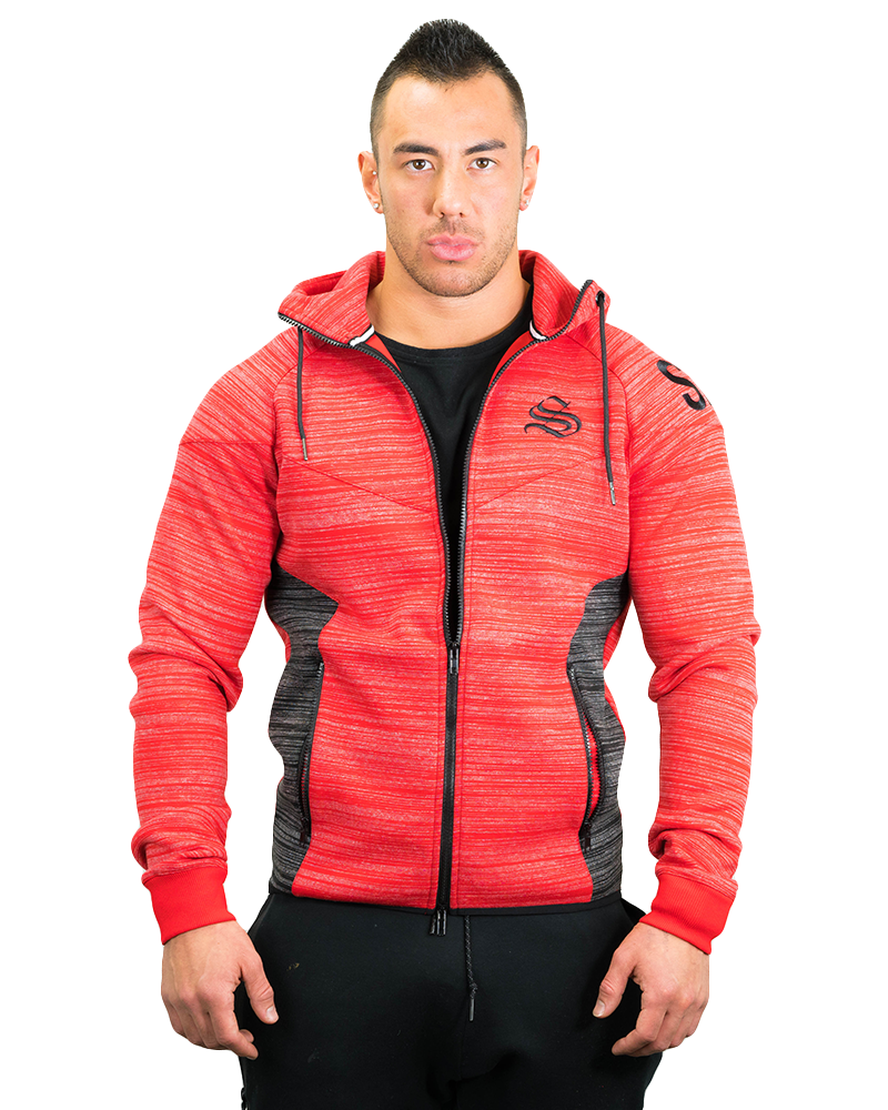 Prime Training Hoodie Mens Strong Liftwear S Red