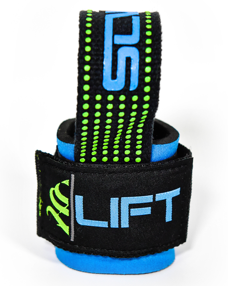 Pro Grip S LIFT - Weightlifting Straps Accessories Strong Liftwear Blue