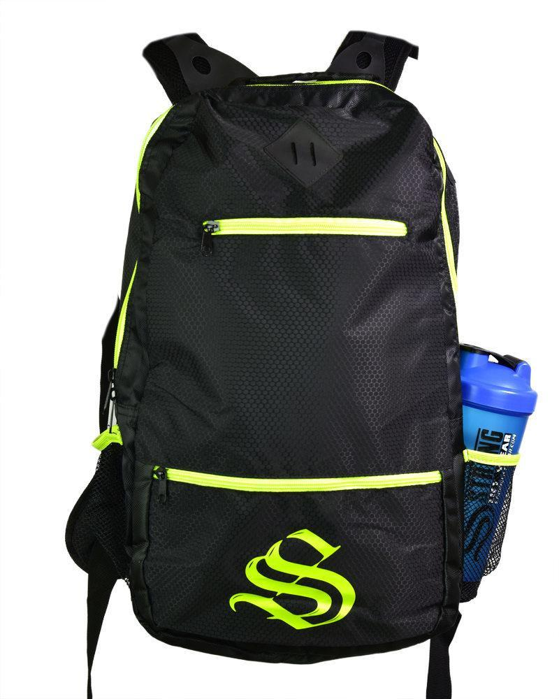 S Lift Gympack Training Bag Accessories Strong Liftwear Black/Hyper Yellow