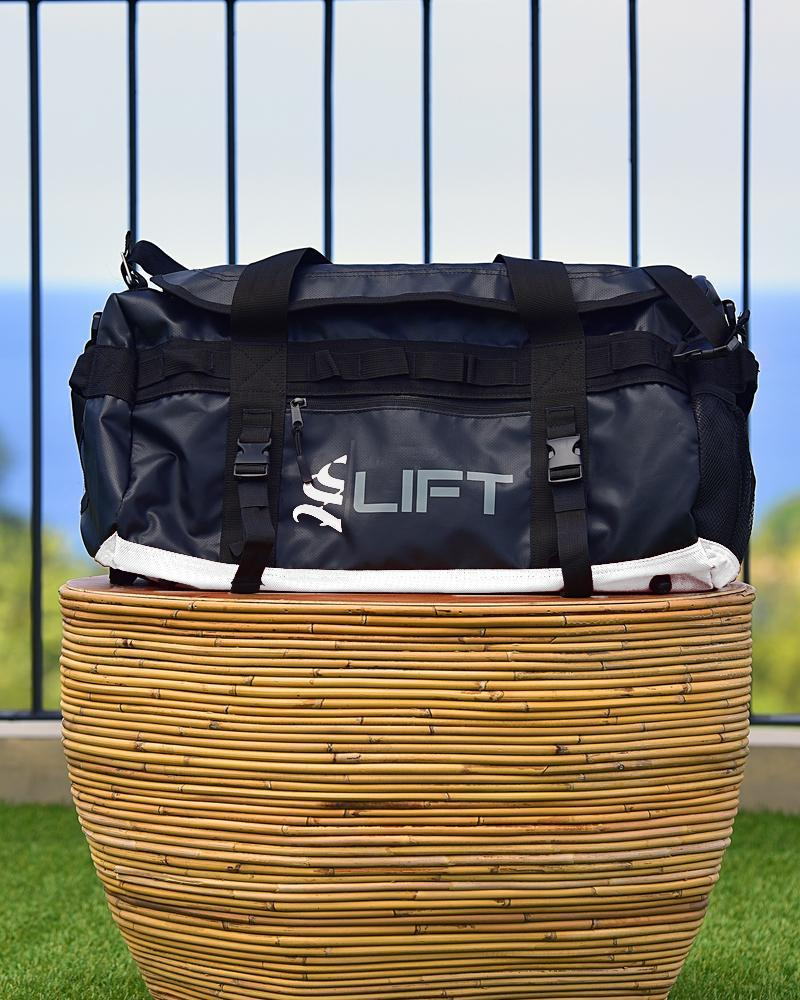 S Lift Utility Gym Bag Accessories Strong Liftwear Black/White