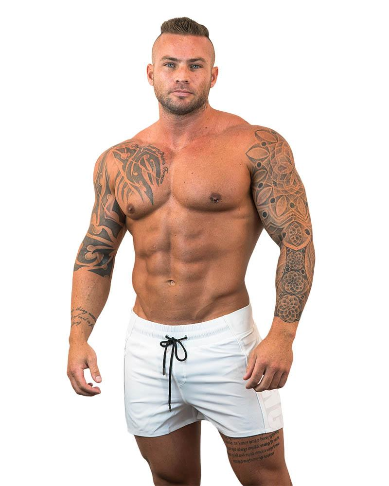 Strong Lift Shorts Mens Strong Liftwear S White