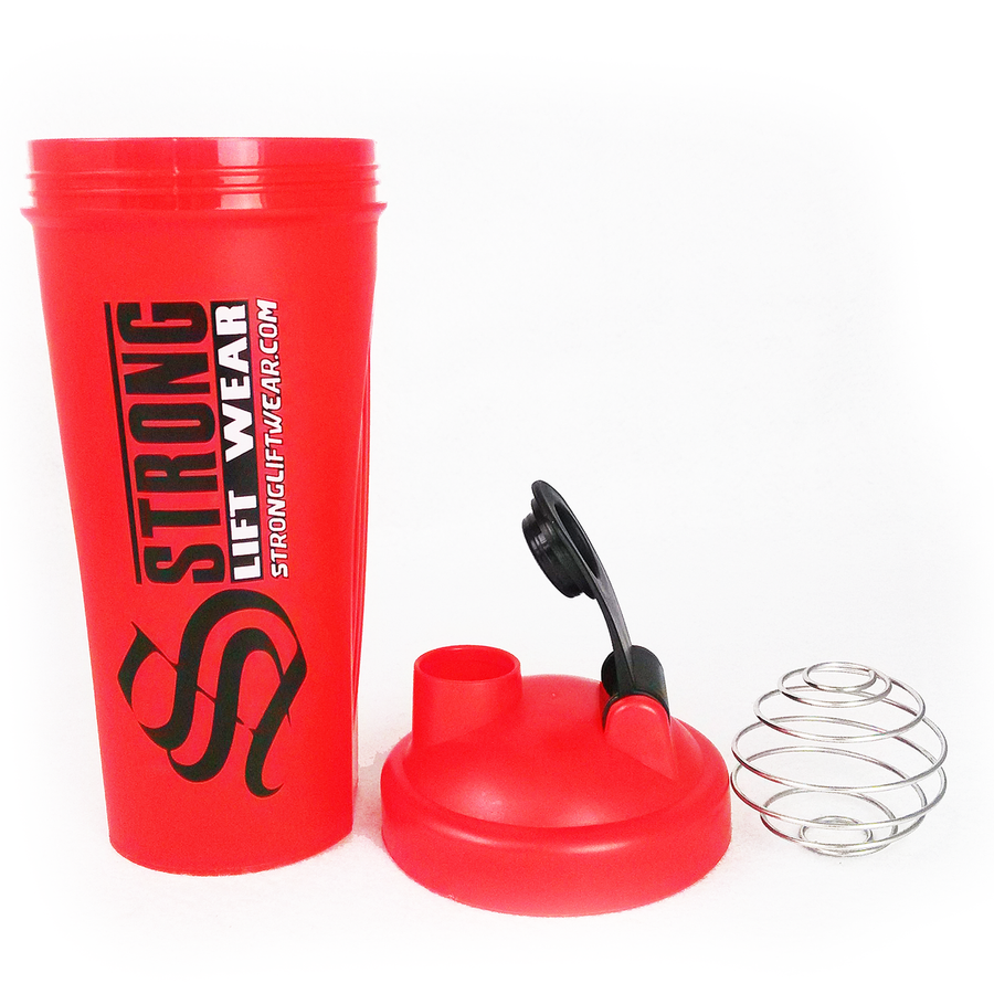 Strong Lift Wear Shaker Accessories Strong Liftwear Red