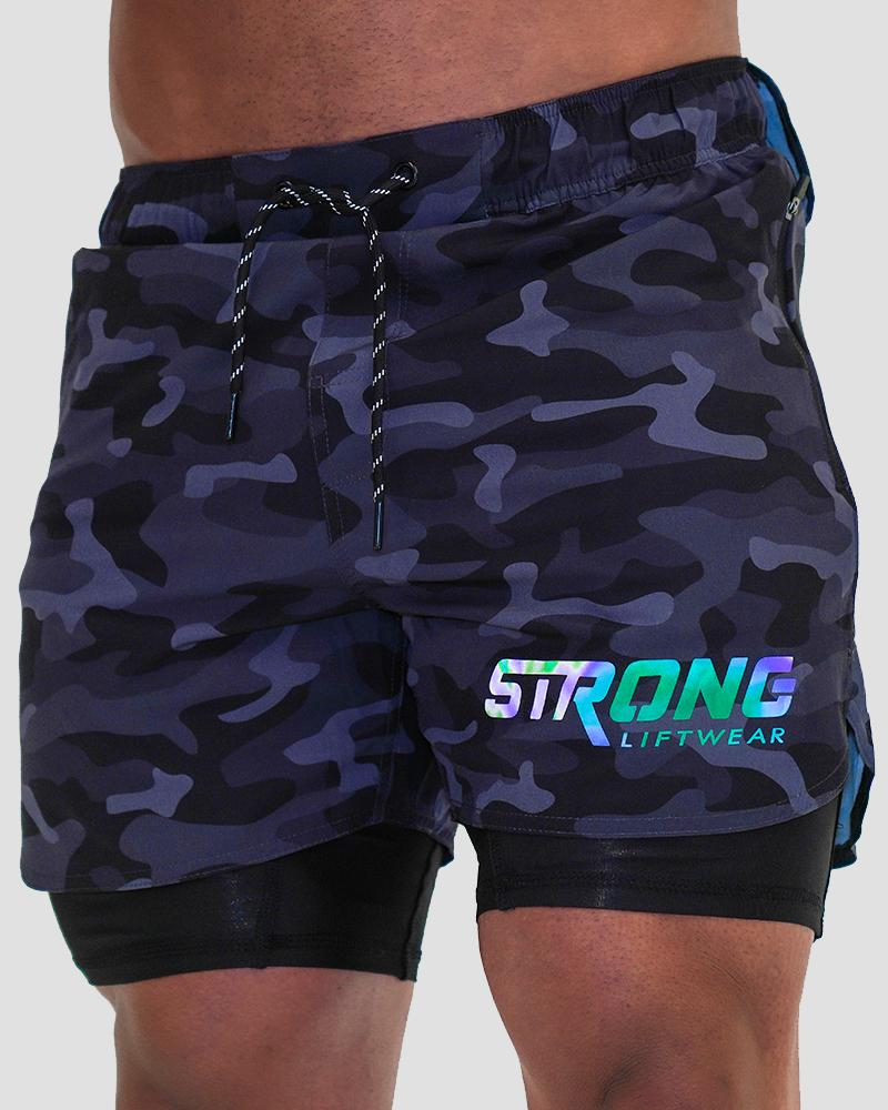 Tech Shorts - Camo Shorts Strong Liftwear
