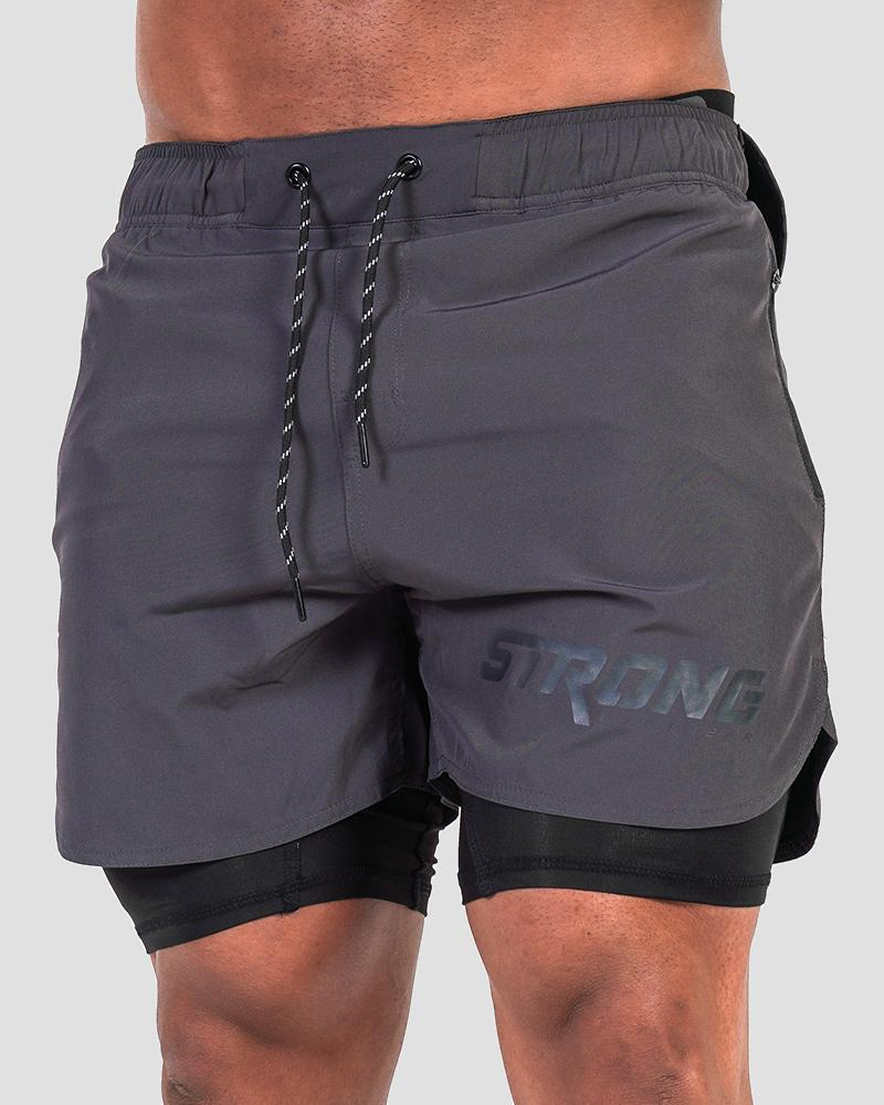 Tech Shorts - Grey Shorts Strong Liftwear