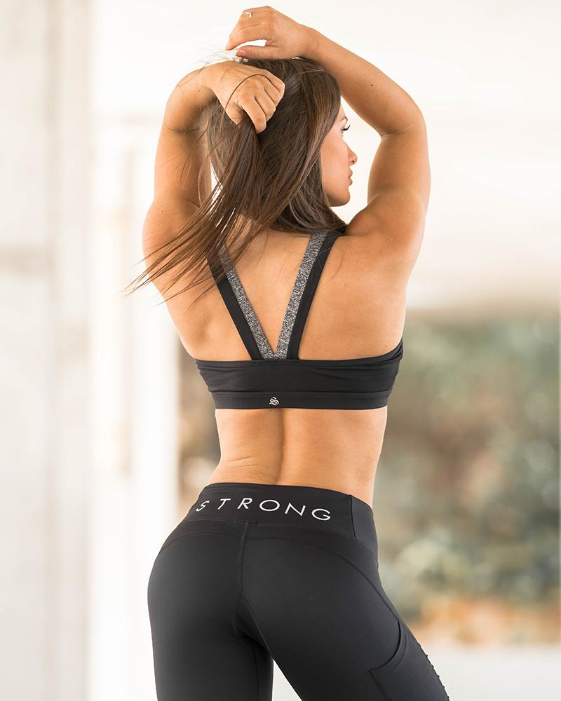 Two Tone Sports Bra Womens Strong Liftwear