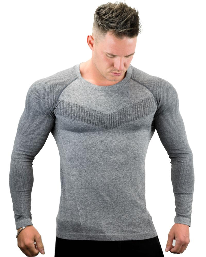 Ultra Seamless Long Sleeve Tee Mens Strong Liftwear