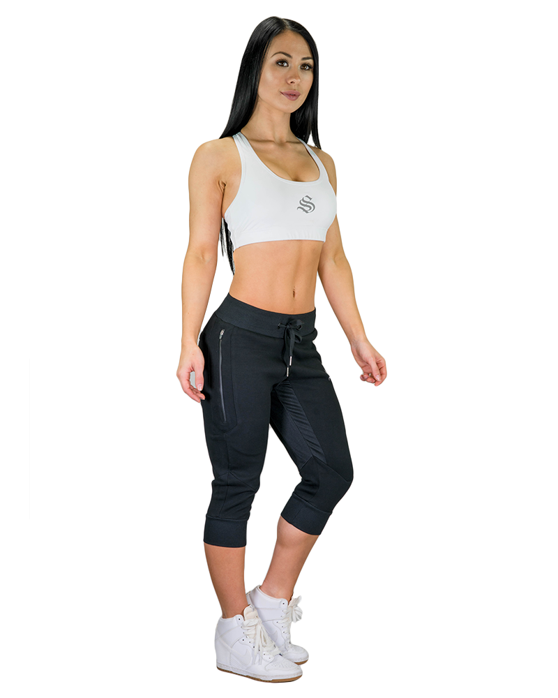 Womens MeshTech 3/4 Training Pants Womens Strong Liftwear XS Black