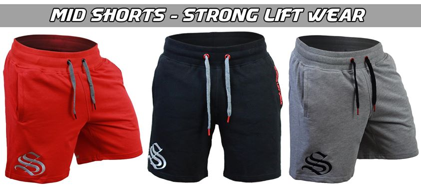 Strong Lift Wear Mid Shorts