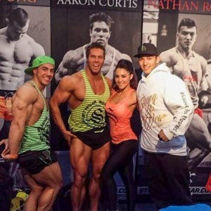 Strong Lift Wear Sponsored Athletes at FitX 2014