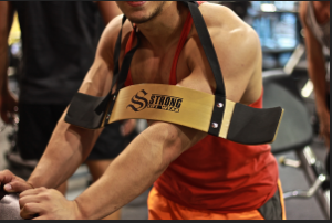 Gold Strong Lift Wear Arm Blaster