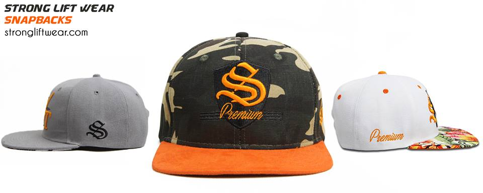Strong Lift Wear Snapbacks
