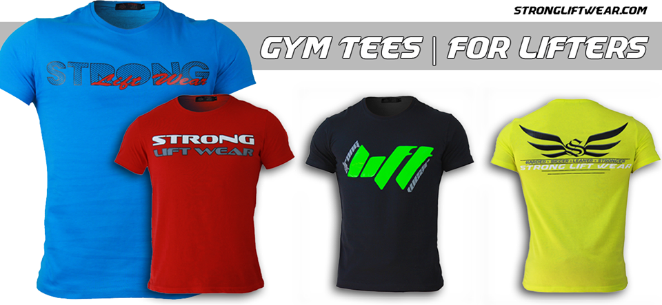 Our Newest Range of Gym Tees