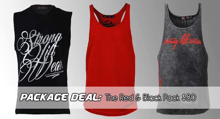 red&black pack