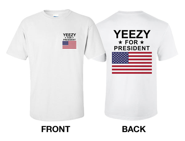 KANYE WEST: Yeezy For President T Shirt