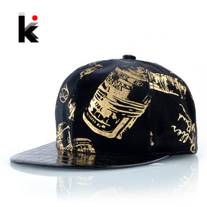 Snapback Hip Hop Flat Hat For Men Women Non-inverted Velvet Baseball Cap Boys Skateboard Chapeu Masculino Drake Bone Casquette